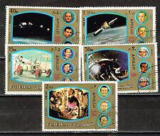 Fujeira US Space Moon Exploration Apollo teams set 1970
