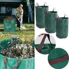 Refuse Leaf Sacks Garden Waste Bags Reusable Waterproof Heavy Duty Reinforced