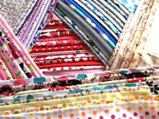 25 Pieces Mixed Patchwork Craft Material Fabric Bundle Remnants Scraps Offcuts