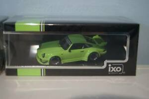 Ixo porsche 911 rwb 930 hell green moc208 1:43