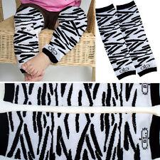 10PC LOT Zebra Stripes Children Child Crawl Leggings Tight Warmer Socks Girl/Boy