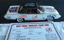 Ny Yankees 1961 Thunderbird Car World Champions Danbury Mint Le Coa Mantle