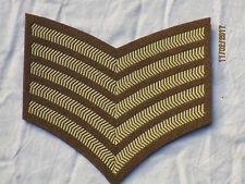 Nr. 2 Dress Distintivo rango; Good Conduct Strisce,Guards Divisione,5-angolo