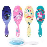 1PC Unicorn Airbag Massage Comb Hair Brush Anti-Static Detangle Comb Scalp US