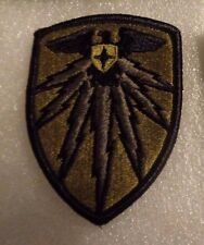 ARMY PATCH, 7TH SIGNAL COMMAND. MULTI-CAM,SCORPION,WITH HOOK LOOP FASTENER