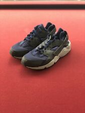 Nike Air Huarache Run QS White Purple Punch Grape Black 318429-407 Size 9.5