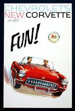 Prospekt brochure 1957 Chevrolet Corvette (USA)