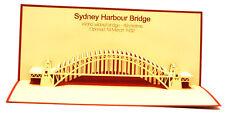 Sydney Habour Bridge -  Australia - Souvenir - 3D pop up card - 9x20 cm