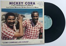 Mickey Cora Y Su Orquesta Cabala Salsa ROPA WILCHI LPRWCI-86 1986 Puerto Rico Ex