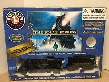 The Polar Express LIONEL TRAIN SET G GAUGE 7-11022 - Complete!