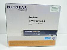 Netgear Prosafe VPN Firewall with 8-port 10/100 Mbps Switch FVS318