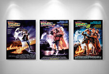 RETOUR VERS LE FUTUR BACK TO THE FUTURE  3 X Posters Format A3 297 x 420 mm