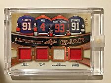 16/17 Ultimate J Tavares T Hall S Stamkos R Nugent-Hopkins Quad Jersey #25/25