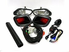 EZGO TXT 2014+ DELUXE STREET LEGAL FULL LED LIGHT KIT w/ LED TAILLIGHTS