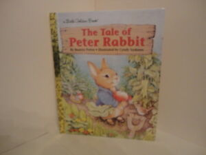 "A Little Golden Book ""The Tale of Peter Rabbit"" by Beatrix Potter NEW!"