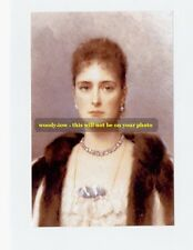 """mm342-Romanov Czarina Alexandra wife Nicholas II art portrait-Royalty photo 6x4"""""""