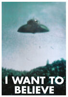 UFO Poster X-files - I Want To Believe - Akte X UFO Aliens 61x91.5cm Plakat Film