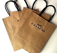 """22 Coach Store Gift Bags 8""""x10"""" Coach New York Bags - Lot of 22"""