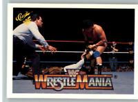 1990 Classic WWF WWE History of Wrestlemania #22 Tito Santana