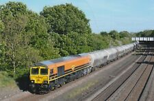 DIESEL RAILWAY PHOTO FREIGHTLINER CLASS 66 PHOTOGRAPH TRAIN PICTURE 66623 ON OIL