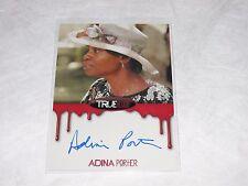 2012 True Blood Premiere ADINA PORTER Full Bleed On Card Autograph The 100 - AHS