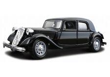 CITROEN TA 15 CV in Black - 1 24 Die-cast Classic Car T a 15cv Model Burago