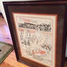 1983 Tupelo Mississippi Gum Tree Festival 10K Run Framed Print,7th Annual