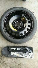 "GENIUINE OPEL MERIVA B 16"" SPACE SAVER 2010-2018 SPARE WHEEL & TYRE JACK KIT"