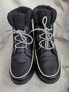 Sorel Explorer Carnival Boots In Black Size 7.5