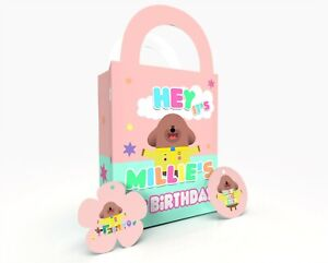Hey DuGgee Gift Bag, Party Bag, Party Box, Treat Bag/Box Party Favor Pastel 1