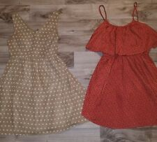 2- Cute junior summer dresses. sz Medium
