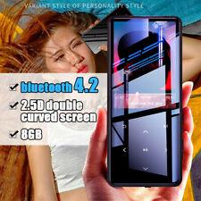 8GB HiFi bluetooth Ultradünner Touchscreen Musik MP3 Player Kinder Geschenk