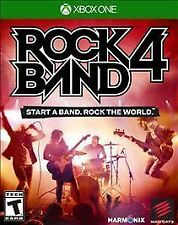 Rock Band 4 (Microsoft Xbox One, 2015) GAME ONLY