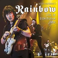 Richie Blackmores Rainbow - Live In Birmingham 2016 (NEW 2 x CD)