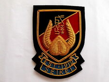 Bullion wire Blazer Badge with the Great hand embroidery,