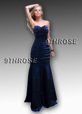 SPEAK THE ELEGANCE! BLUE FORMAL/EVENING/PROM/BRIDESMAID STRAPLESS DRESS AU18US16