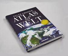 Neuer grosser ATLAS DER WELT (Serges Medien) mit illustriertem Länderlexikon