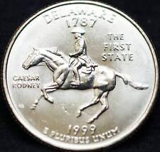 1999 P Delaware State BU Washington Quarter US Coin