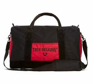 True Religion Brand Jeans Monogram Duffel/Gym Bag/Purse - YMONODUF