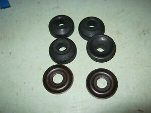 land rover 90-110 from 1994 lower rear shocker bushes and bottom washers kit