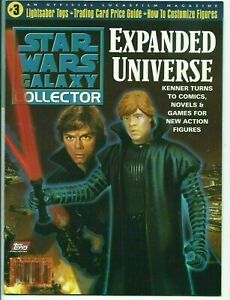 Star Wars Galaxy Collector #3 Expanded Universe Luke Skywalker on Cover