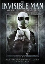 The Invisible Man Complete Legacy Collection DVD 3 Disc