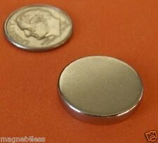 10 Pc 3/4 x 1/8 Neodymium Rare Earth Disc Magnets