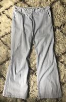 BODEN Women's GRAY Stretch Lightweight Cotton Chino Pants UK 14, US 10 R