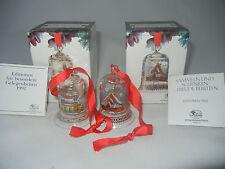 Hutschenreuther Weihnachtsglocke Glas Kristallglocke EINZELVERKAUF: 1991 - 1992
