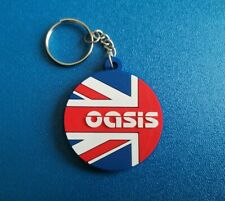 OASIS KEY-RING SILICONE RUBBER MUSIC FESTIVAL (b) UNION JACK