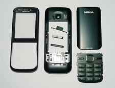 black Fascia housing cover facia case faceplate for Nokia C5 with keypad