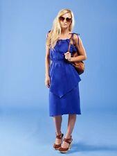 Suzabelle Boutique Designer Penelope Dress Blue Or Poppy Red XS S M L Women's