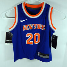 Toddler New York Knicks Kevin Knox #20 Blue Icon Jersey Swingman 3T Nike NWT