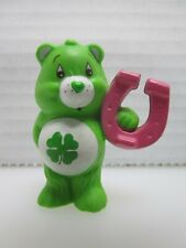 Care Bears Good Luck Bear Holding a Horseshoe Pvc Figure 1983 Agc Miniature Mini
